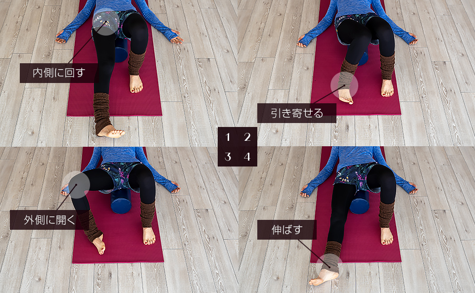 股関節を緩めるエクササイズ2