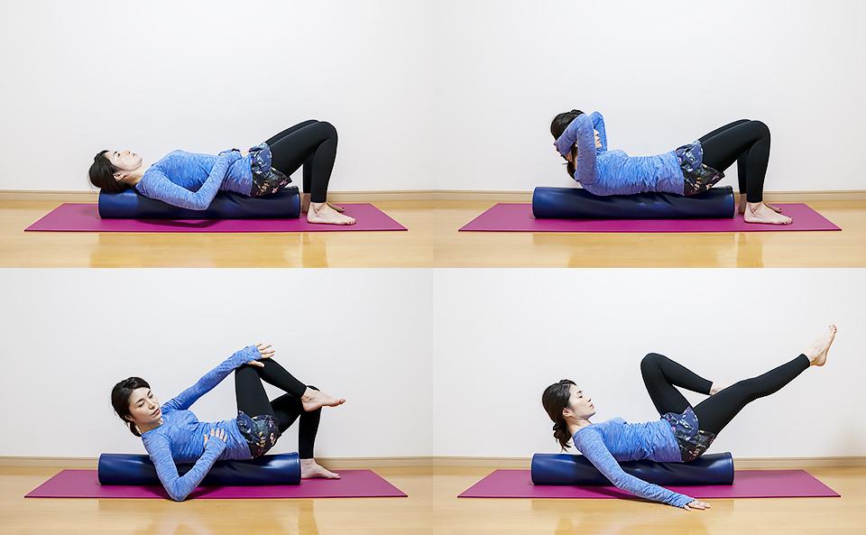 ストレッチポールで腹筋を鍛えるトレーニング方法の紹介