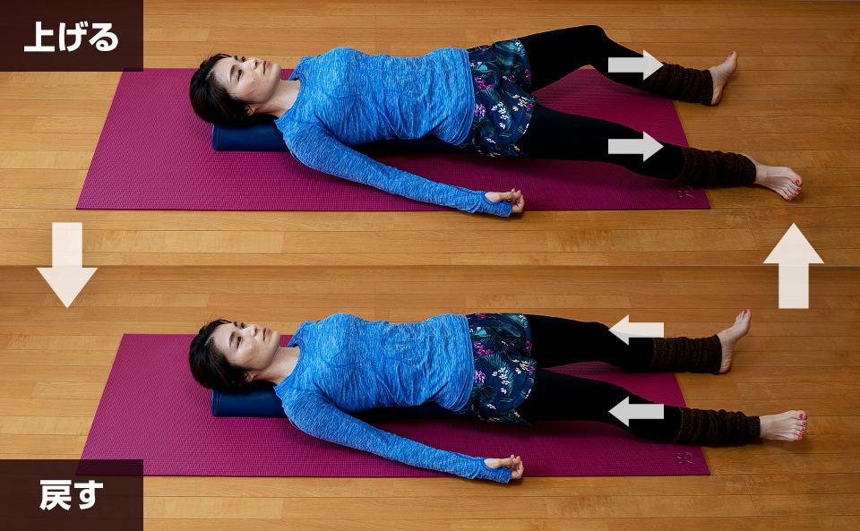 膝をゆるめる運動