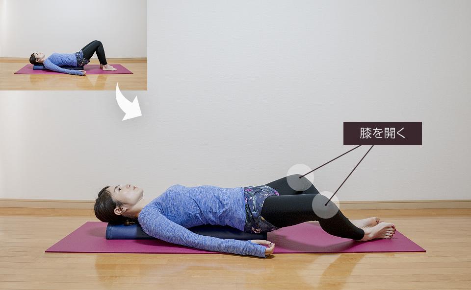 予備運動2「股関節の運動」