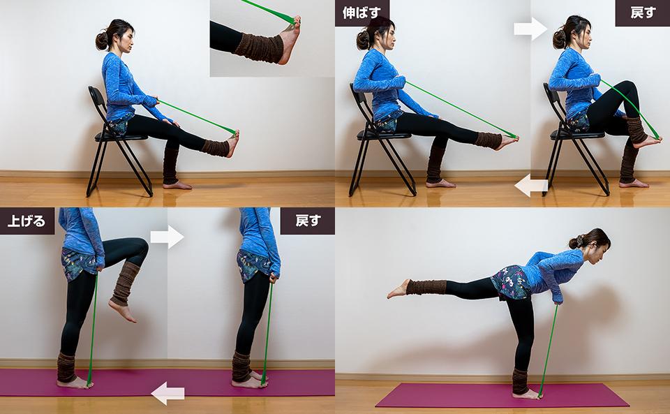 フロッグハンドで足の指を鍛えるトレーニング