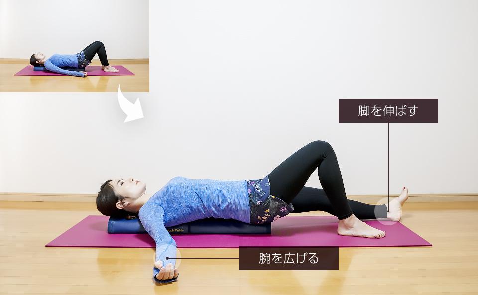 予備運動3「対角の運動」