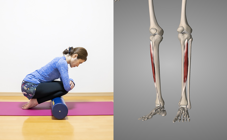 硬くなったすねの筋肉を柔らかくすると得られる効果