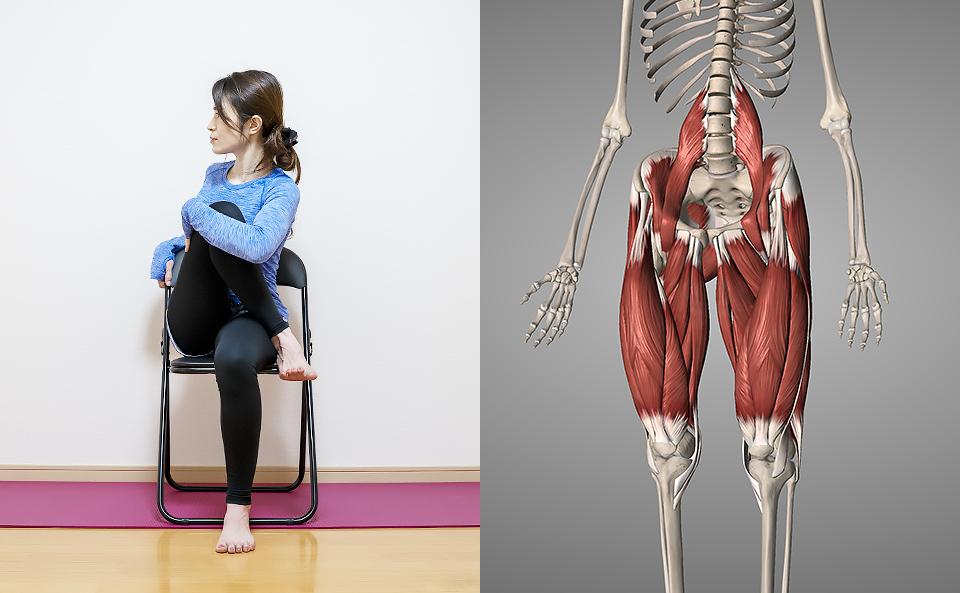 股関節のストレッチについて