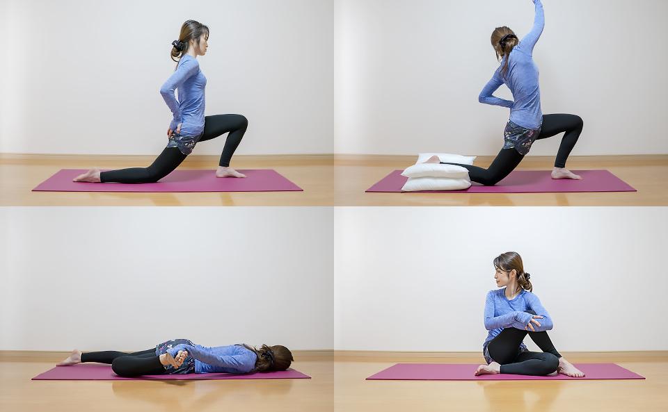 股関節のストレッチ方法の紹介