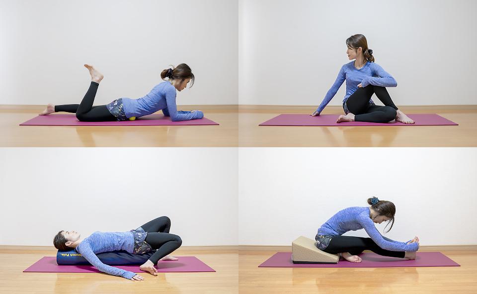 テニスボールでマッサージする方法以外で股関節の動きを改善させる方法