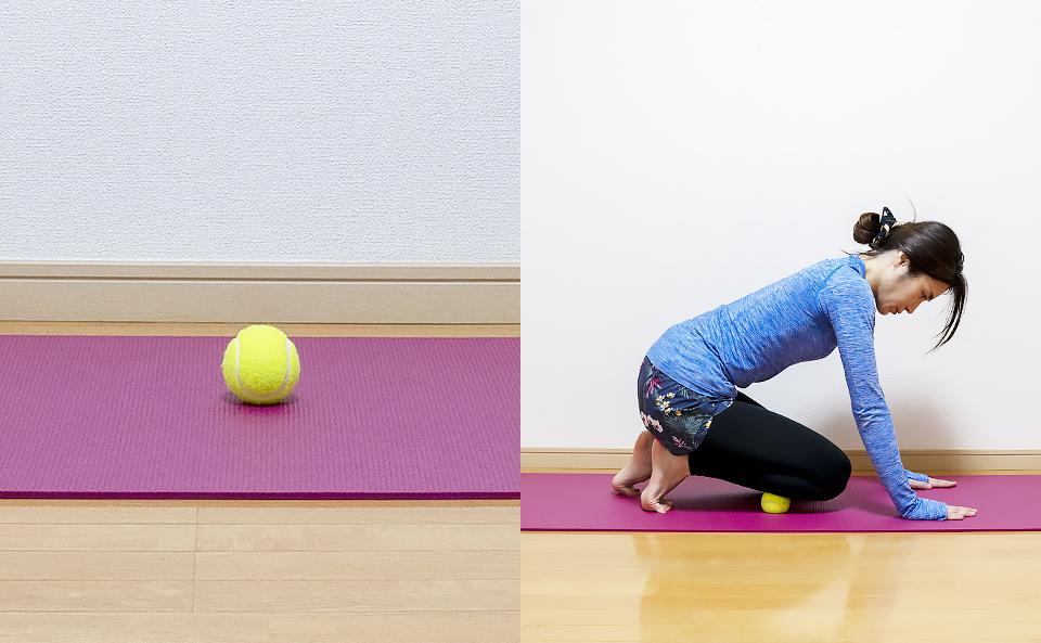テニスボールを使ってマッサージする3つのメリット