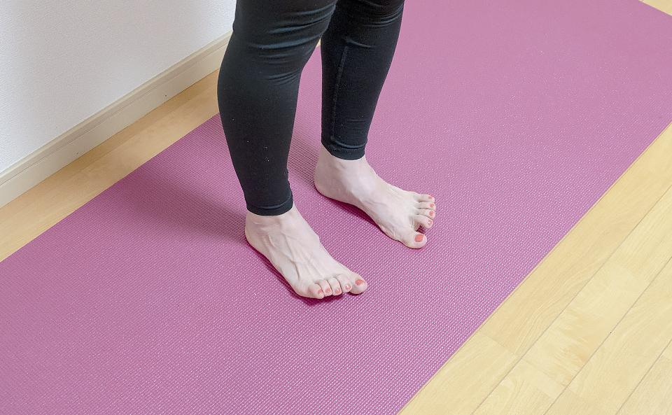 足指・足裏のトレーニング