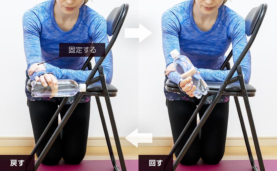 手首・前腕の筋トレ「スピネーション」