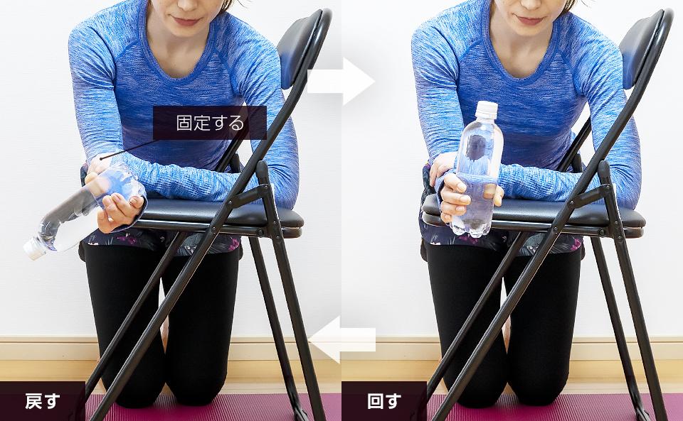 手首・前腕の筋トレ「プロネーション」