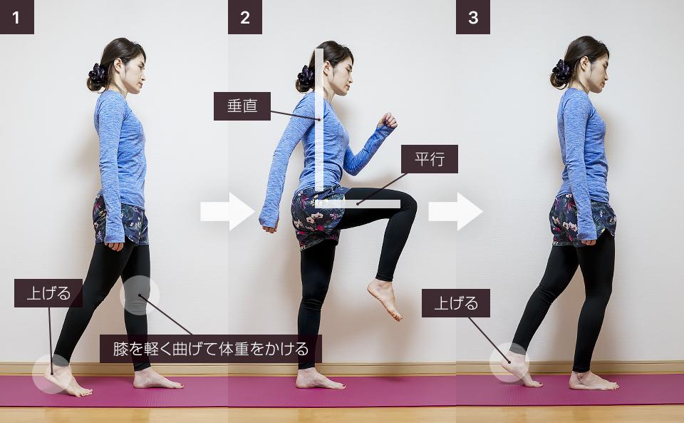 股関節の筋トレ「ニーアップ」