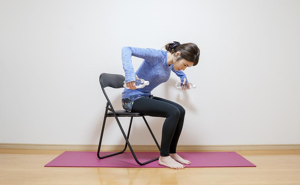 肩甲骨周りの筋肉を鍛える筋トレ