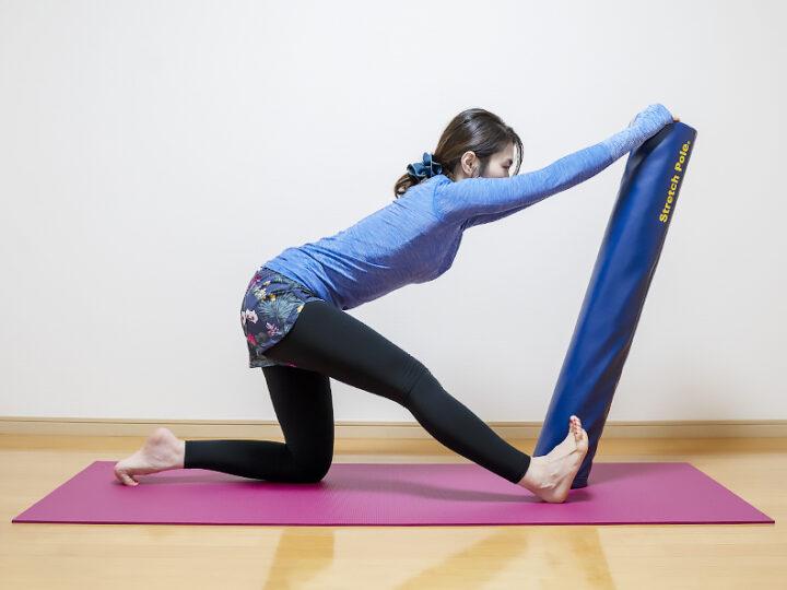 ストレッチポールでハムストリングスを伸ばして柔軟性をアップしよう